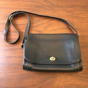 Coach Ridgewood Flap Leather Shoulder Bag D9D-9812